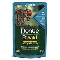 Monge BWild Корм для стерилизованных кошек с тунцом