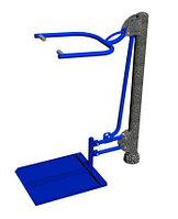 Уличный тренажер для инвалидов «Тяга верхняя» (Тяга сверху)