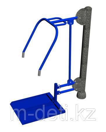 Уличный тренажер для инвалидов «Жим от груди»