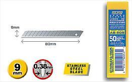 Лезвие OLFA AB-50S нержавеющая сталь