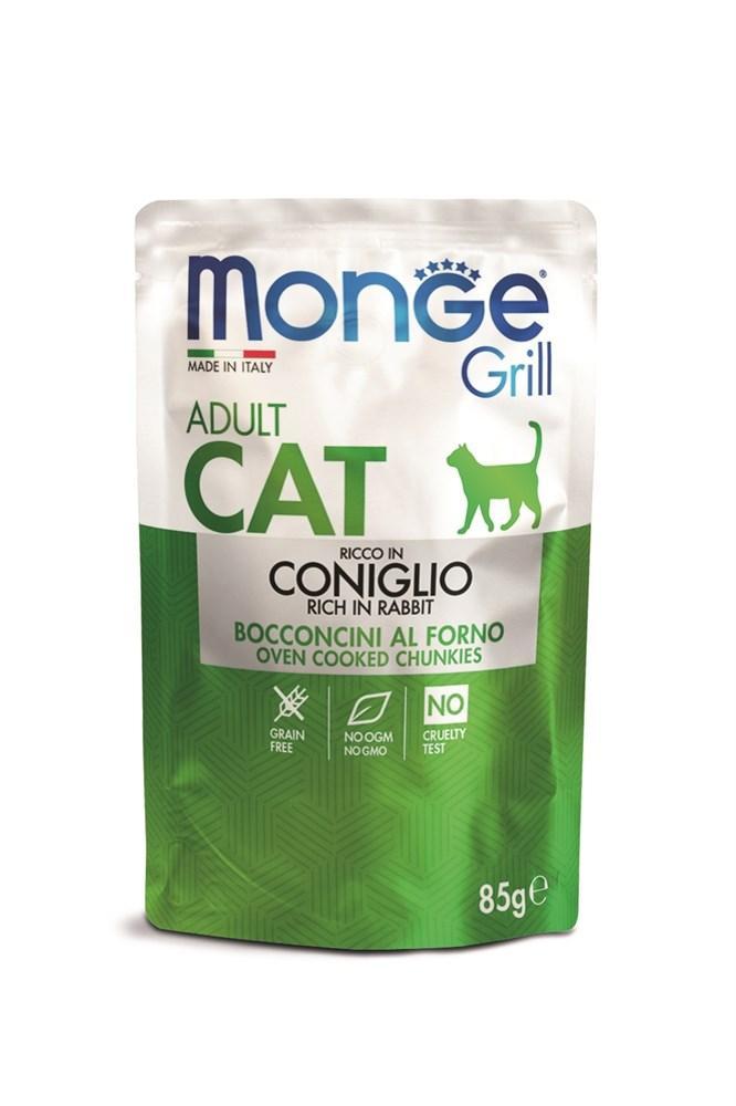 Monge Cat Grill Корм для кошек с кроликом