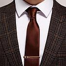 Зажимы для галстука SOKOLOV серебро с позолотой, эмаль фианит  93090004, фото 2