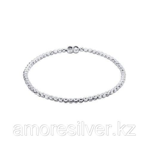 Браслет SOKOLOV серебро с родием, без вставок 94054570