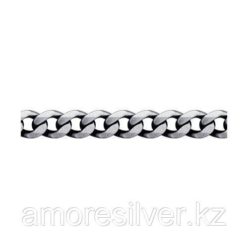 Браслет SOKOLOV из черненного серебра, без вставок 94054706 размеры - 18 19 20 21 22