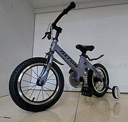 """Легкий Детский велосипед """"Alton"""" 14 колеса. Алюминиевая рама. Легкий. Kaspi RED. Рассрочка."""