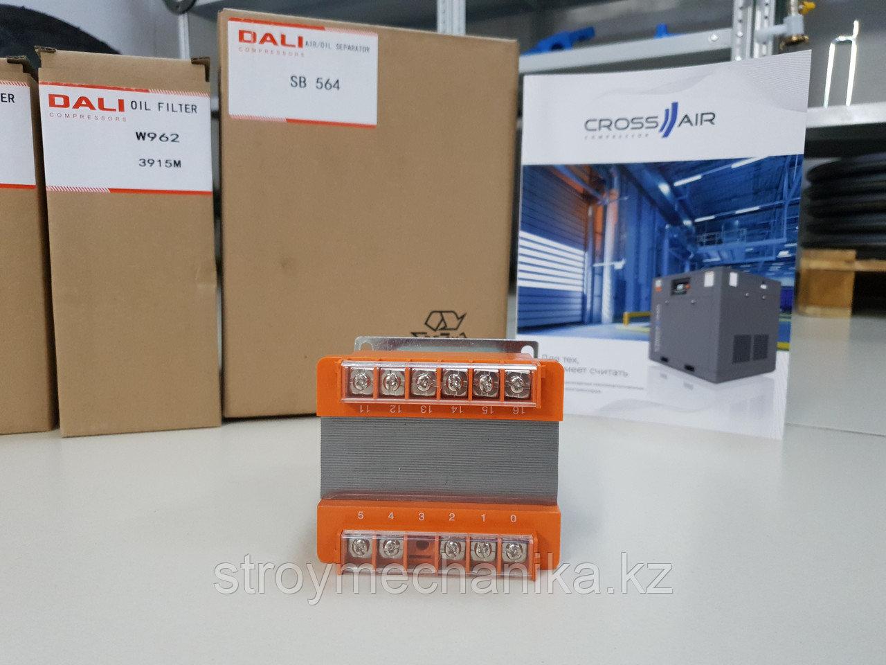 Понижающий трансформатор для винтового компрессора 30 кВт, 37 кВт, 45 кВт Dali, Crossair