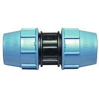 Муфта ПЭ компрессионная соединительная Unidelta d 40*40 мм