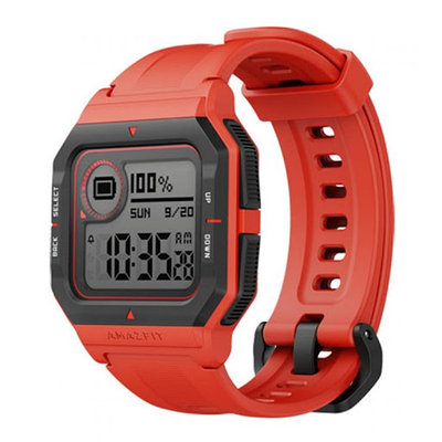Смарт часы, Amazfit, Neo A2001, Красный