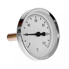 Биметаллический термометр осевой (ТБ-63)