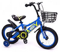Двухколесный велосипед Tomix Junior Captain 14 Blue