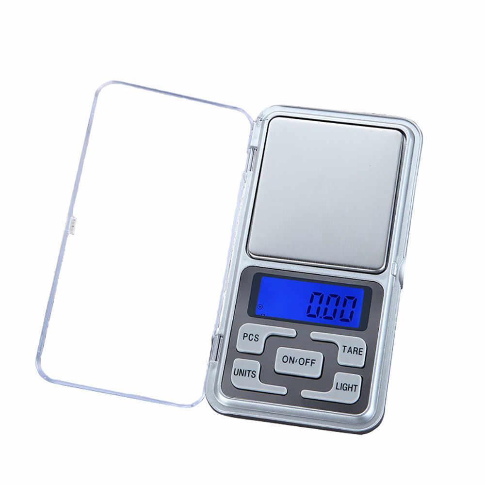 Весы электронные ювелирные с платформой до 500 гр, шаг 0,1 гр.