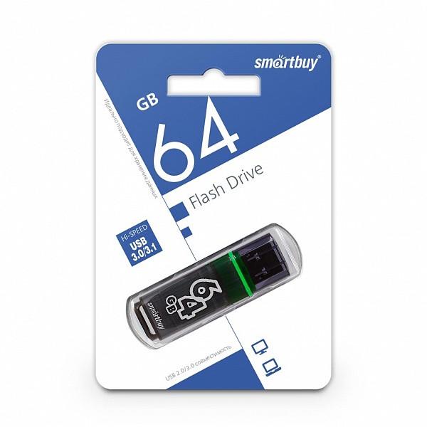 USB 3.0 накопитель Smartbuy 64GB Glossy series