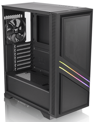 Корпус Thermaltake Versa T35 TG RGB, Черный