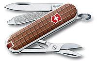 Нож VICTORINOX Мод. CLASSIC SD CHOCOLATE (58мм) - 7 функций, коричневый R 18175