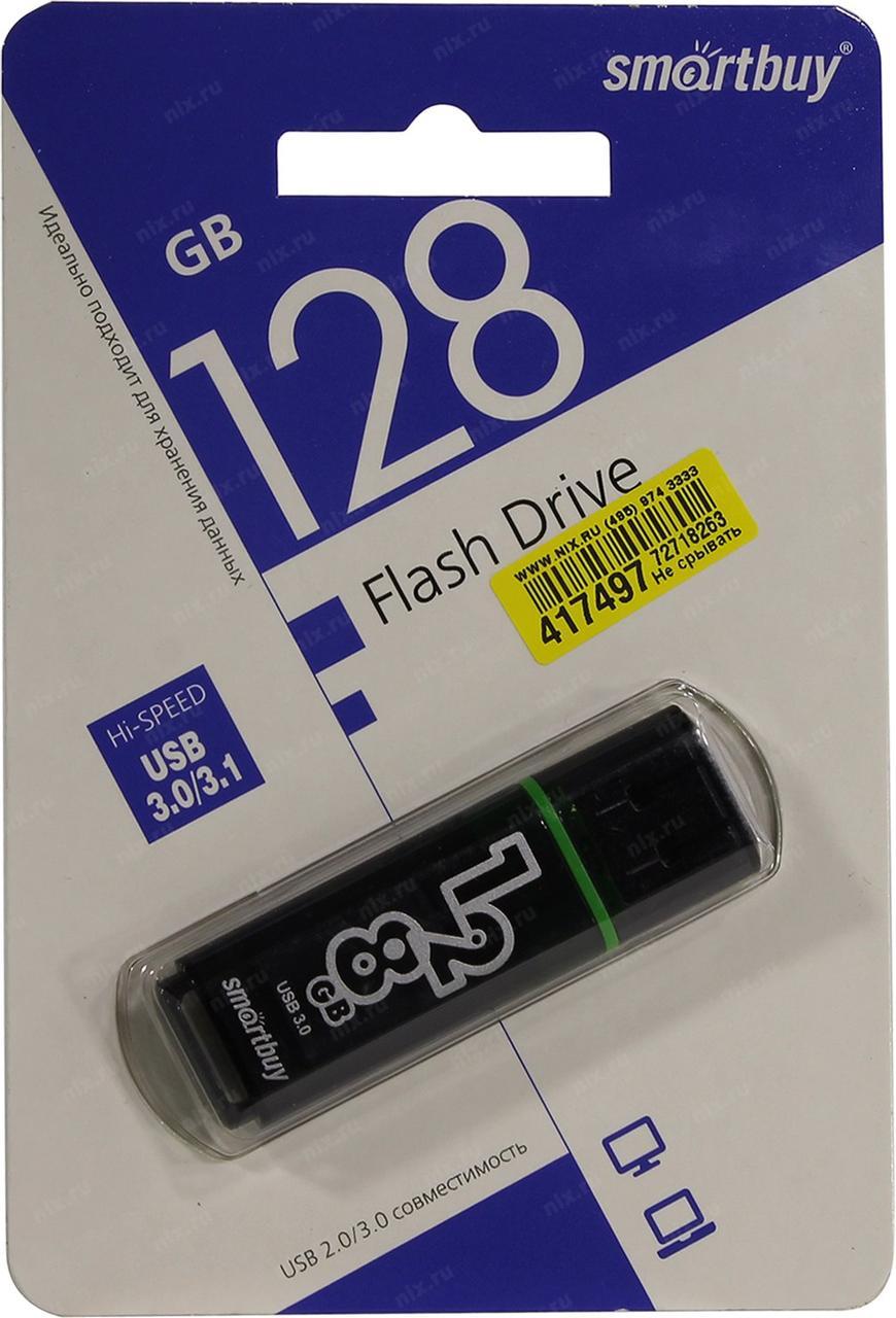USB 3.0 накопитель Smartbuy 128GB Glossy series