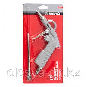 Пистолет продувочный с удлиненным соплом 135 мм. MATRIX, фото 3
