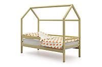 Кровать домик Svogen бежевая