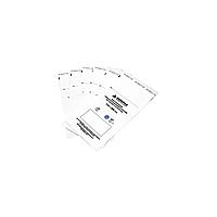 Крафт-пакеты для стерилизации и хранения инструментов, белые, влагостойкие, 115х200 мм DEZUPAK