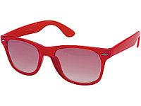 Очки солнцезащитные Sun Ray с прозрачными линзами, красный