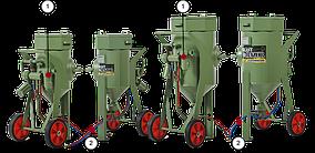 Пескоструйный аппарат Contracor BlastRazor Z-25RC с ДУ