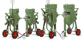 Пескоструйный аппарат Contracor BlastRazor Z-50RC с ДУ