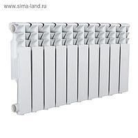 Радиатор Tropic 350x80 мм алюминиевый, 10 секций