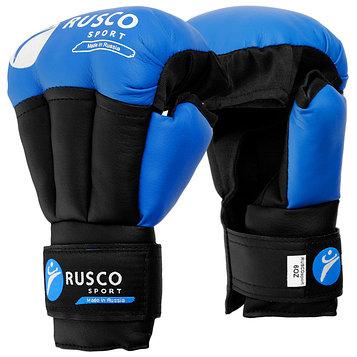 Перчатки для Рукопашного боя RUSCO SPORT  6 OZ цвет синий