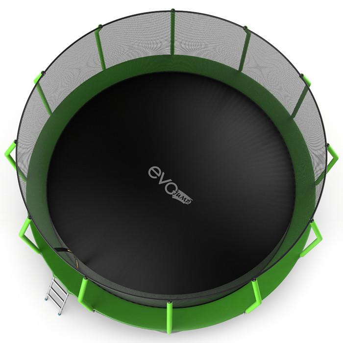Батут EVO JUMP Cosmo, d=488 см, с внутренней защитной сеткой и лестницей, цвет зелёный - фото 4