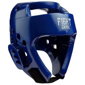 Шлем боксёрский тренировочный FIGHT EMPIRE, размер XL, цвет синий