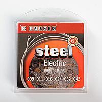 """Струны """"STEEL ELECTRIC"""" c обм. из ферромагнитного сплава с ник.покр. /.009 - .042/"""