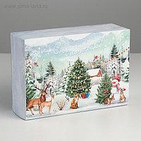 Складная коробка «Сказочный подарок!», 16 × 23 × 7.5 см