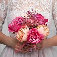 Букет-дублер «Любовь», розы и пионы