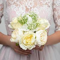 Букет-дублер «Ты прекрасна», белые розы