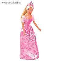 Куклы «Штеффи» и «Еви», набор «Принцессы», зверушки в комплекте, 29 см, 12 см