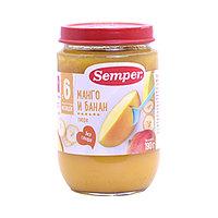 Пюре детское Semper Манго и банан, 190 г (срок до 28.10.21)