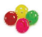 Игрушка для кошки шарик 4 см, 4 шт (1/144)