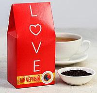 Чай чёрный Love, со вкусом лесные ягоды, 50 г.