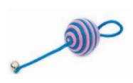 Игрушка для кошки шарик-каталка, 5 см (1/144)