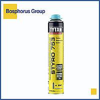 Клей-пена TYTAN STYRO 753 для теплоизоляции, голубой