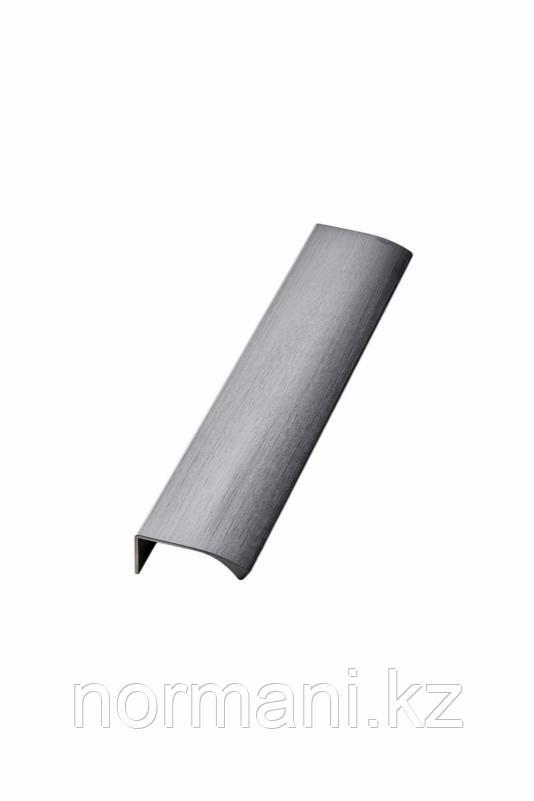 Мебельная ручка накладная EDGE STRAIGHT L.200мм, отделка графит