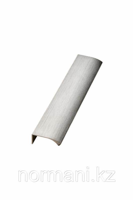Мебельная ручка накладная EDGE STRAIGHT L.200мм, отделка сталь шлифованная