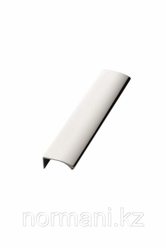 Мебельная ручка накладная EDGE STRAIGHT L.200мм, отделка хром глянец