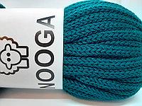 Шерстяной шнур (Пряжа) для вязания NOOGA (Нуга) Изумруд