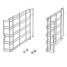 Комплект боковых суппортов на 5 уровней PIRON KGI00003