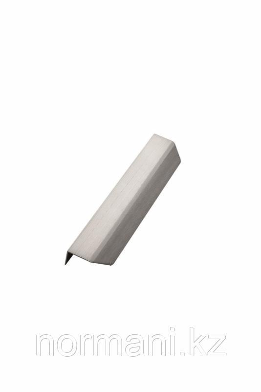 Мебельная ручка накладная BLAZE L.200мм, отделка сталь шлифованная