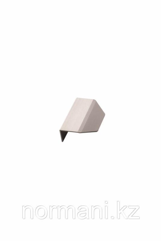 Мебельная ручка накладная BLAZE L.60мм, отделка сталь шлифованная