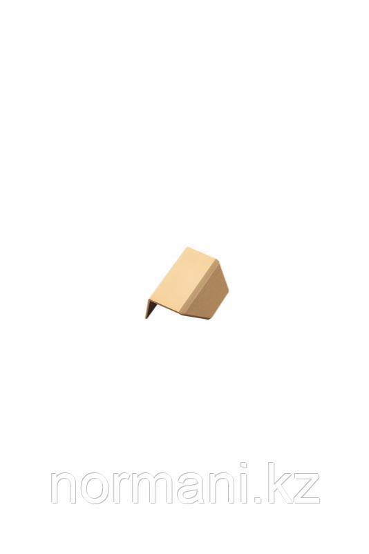 Мебельная ручка накладная BLAZE L.60мм, отделка золото шлифованное