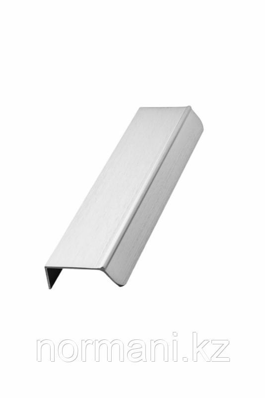 Мебельная ручка накладная ACCENT L.200мм, отделка сталь шлифованная