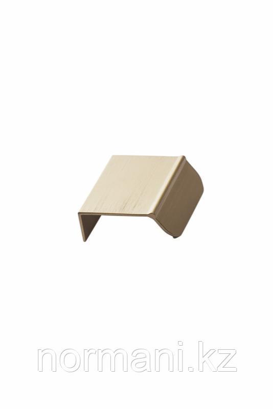 Мебельная ручка накладная ACCENT L.50мм, отделка золото шлифованное