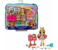 Энчантималс Кукла Лейси набор с куклой-львом Стильный салон Enchantimals Lacey & Manesy